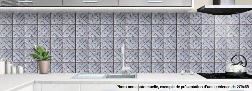 Cr dence de cuisine d corative mediterraneenne - Credence decorative cuisine ...