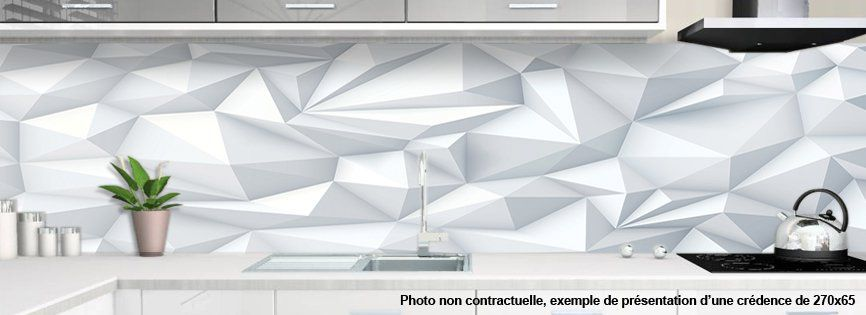 Cr dence de cuisine d corative pyrawhite - Credence decorative cuisine ...