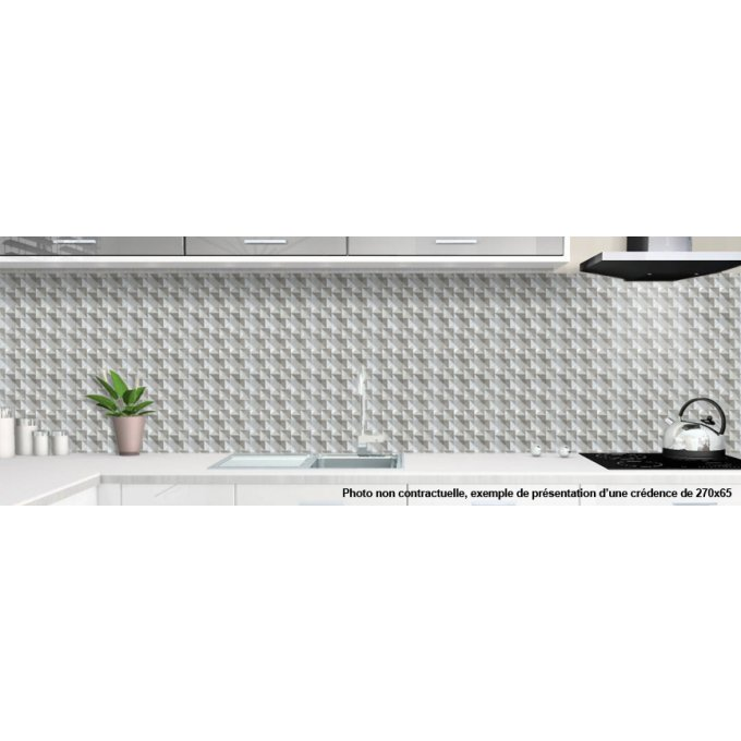 cr dence de cuisine sur mesure faiences et carreaux. Black Bedroom Furniture Sets. Home Design Ideas