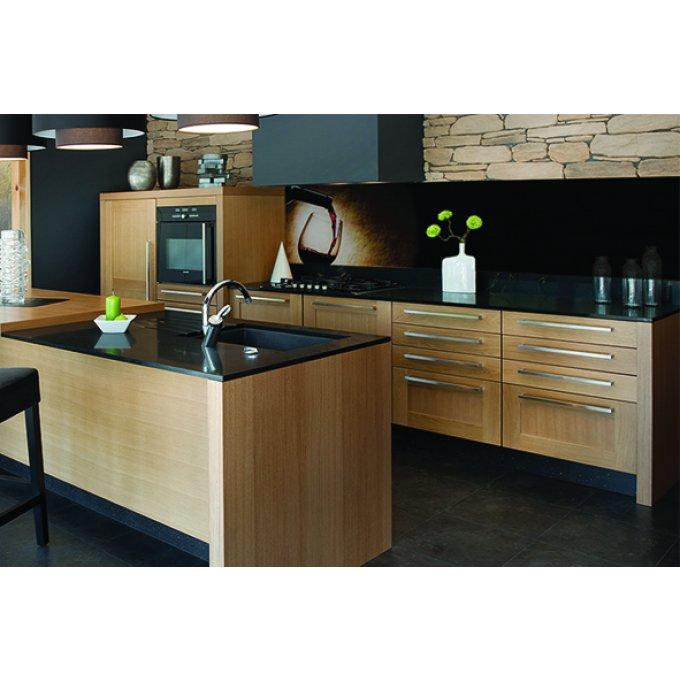 cr dence verre cuisine sur mesure motif vin 5. Black Bedroom Furniture Sets. Home Design Ideas