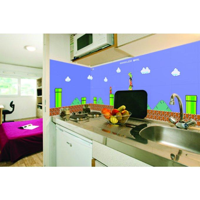 cr dence pour cuisine decoration mario 1. Black Bedroom Furniture Sets. Home Design Ideas