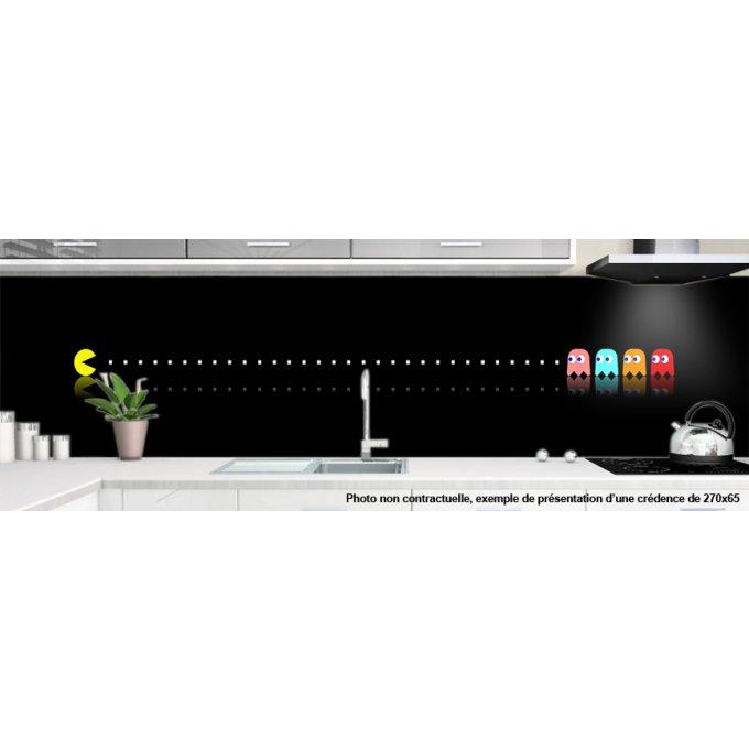 cr dence pour cuisine decoration pacman 1. Black Bedroom Furniture Sets. Home Design Ideas