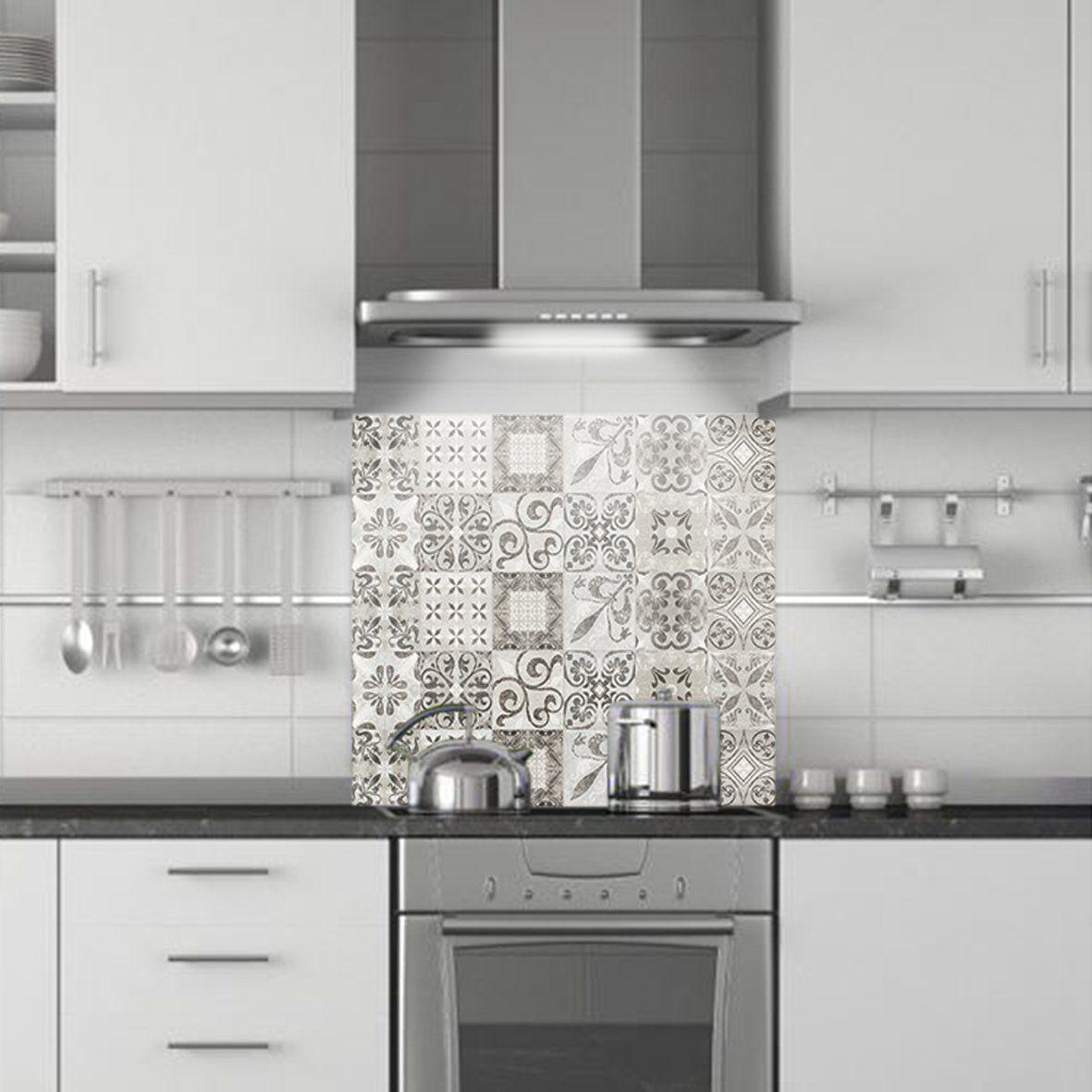crédence de cuisine décorative | CARREAUX DE CIMENT USURE