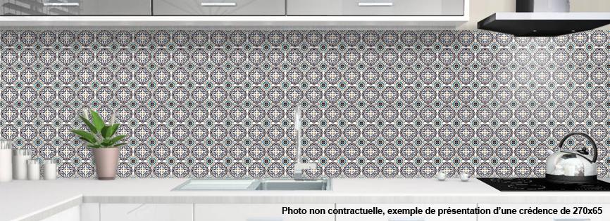 Credence Plexiglas Pour Cuisine Mosaique Orientale