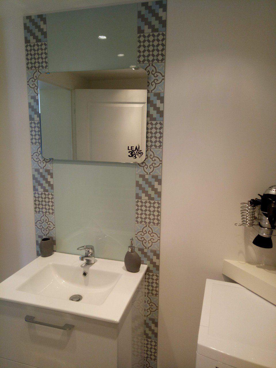 cr dence de cuisine d corative carreaux de ciment belle epoque. Black Bedroom Furniture Sets. Home Design Ideas