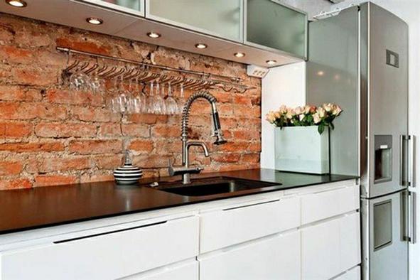 credences et fonds de hotte decoratifs design credence. Black Bedroom Furniture Sets. Home Design Ideas